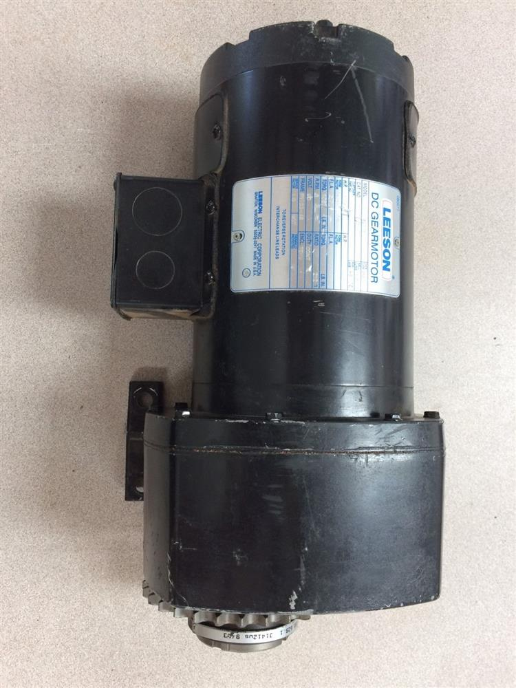 leeson dc gear motor 305570 for sale used