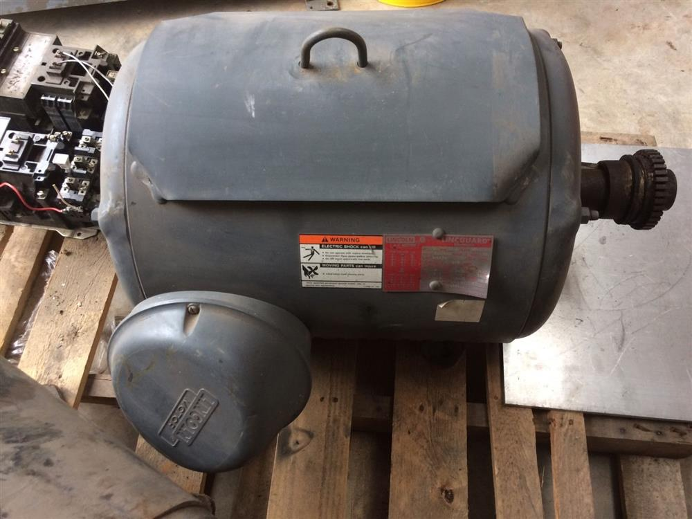 60 hp lincoln ac electric m 305572 for sale used