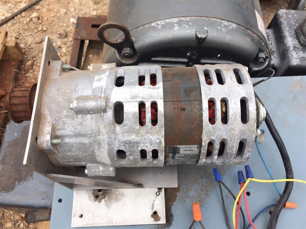 Bondine electric gear motor 306234 for sale used for Used electric motors for sale