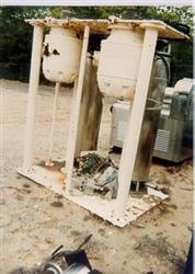 306325 - 15 HP Scraped Surface Exchanger - 6in Dia. X 5ft, Stainless Steel, Vertical