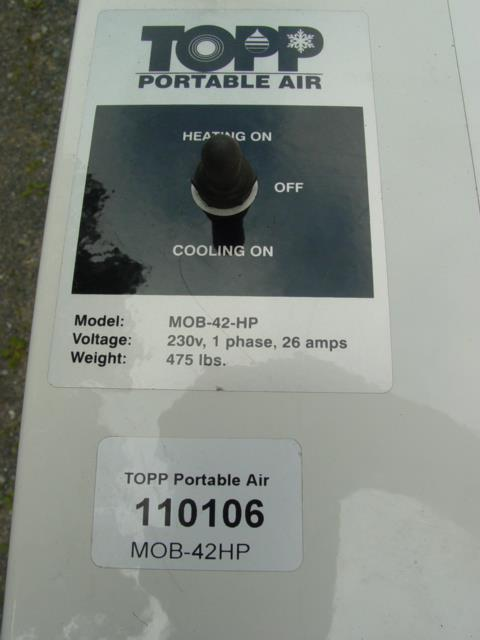 Mobile Cool Portable Air Co 306356 For Sale Used
