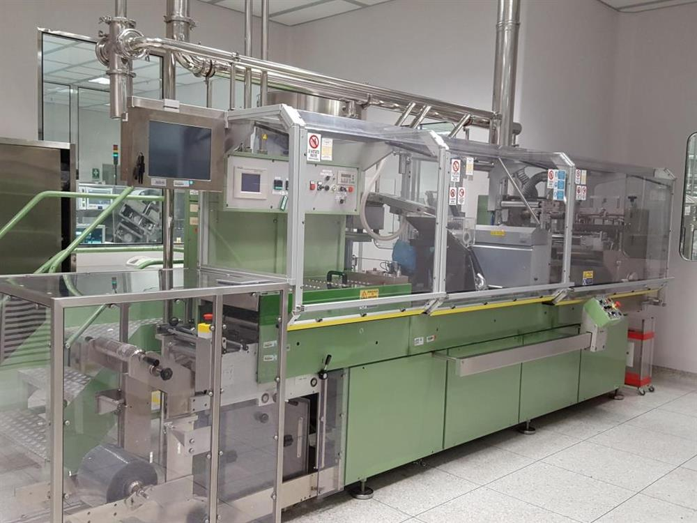 PARTENA-CAM M 80 Blistering Machine