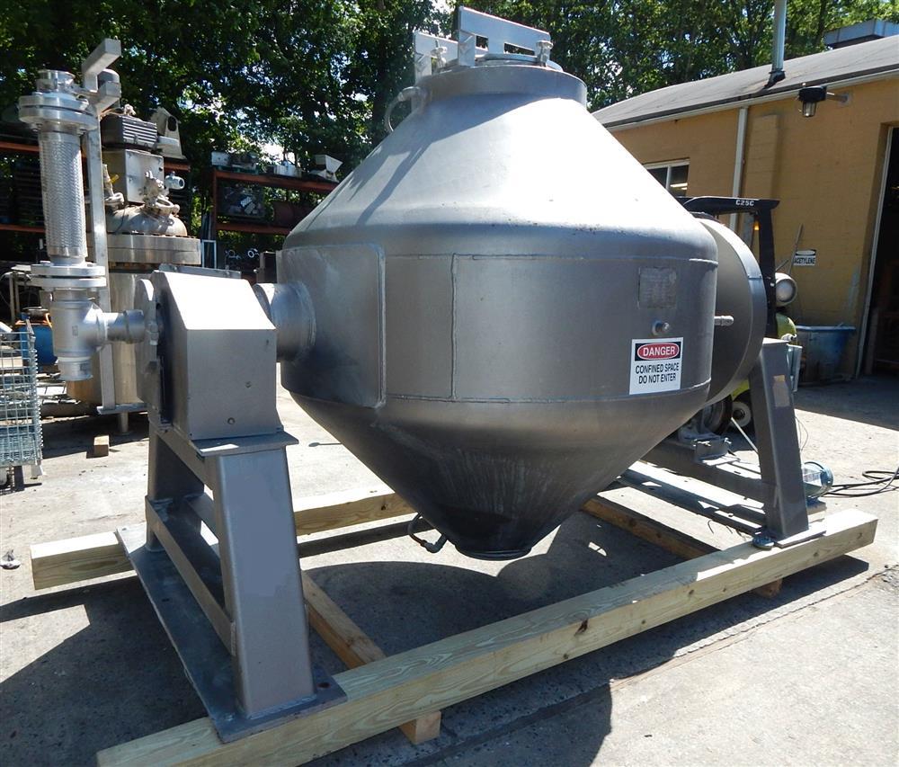50 Cu. Ft. GEMCO Vacuum Dryer