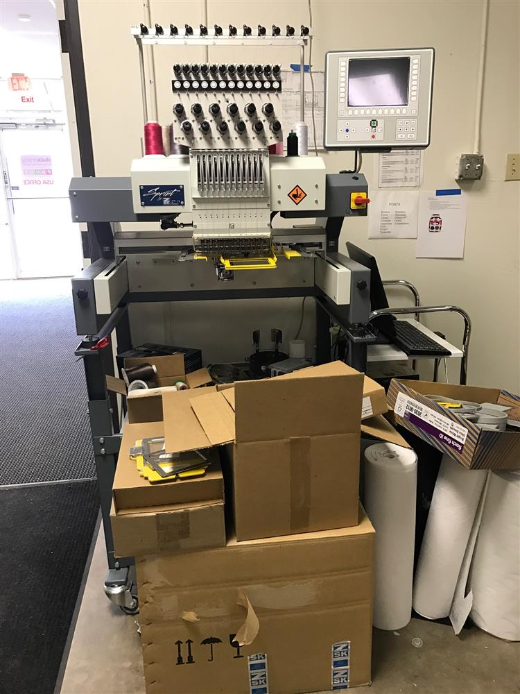 Zsk Embroidery Machine 306793 For Sale Used