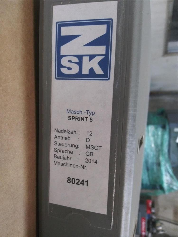 Image ZSK Embroidery Machine 1553173