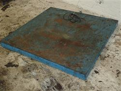 307076 - GENERAL ELECTRONIC SYSTEM WEIGH-DECK Floor Scale