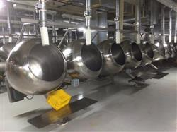 307364 - 38in SKERMAN Coating Pans - Stainless Steel