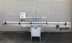 307586 - 14 Head FEC Inline Bottle Filler - Stainless Steel