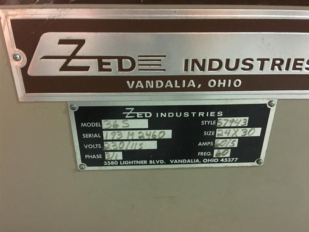 Image ZED 365 Inline Blister Sealer with Auto Card Feeder 971603