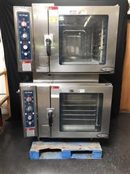308278 - ALTO SHAAM Double Stack Gas Combi Convection Oven Steamer