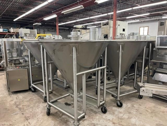 Image Stainless Steel Totes - Lot of 7 1553156