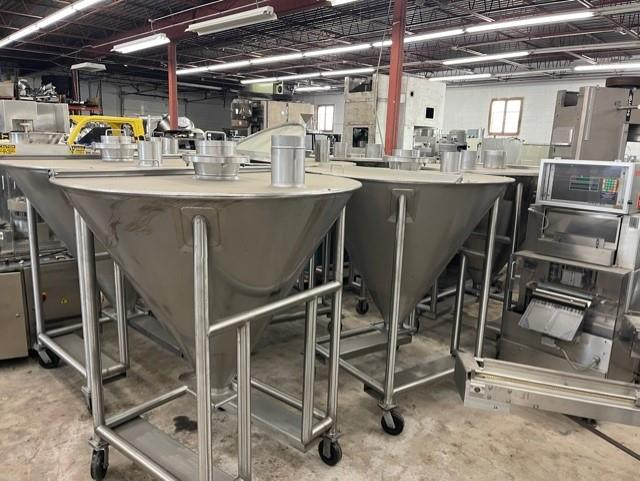 Image Stainless Steel Totes - Lot of 7 1553157