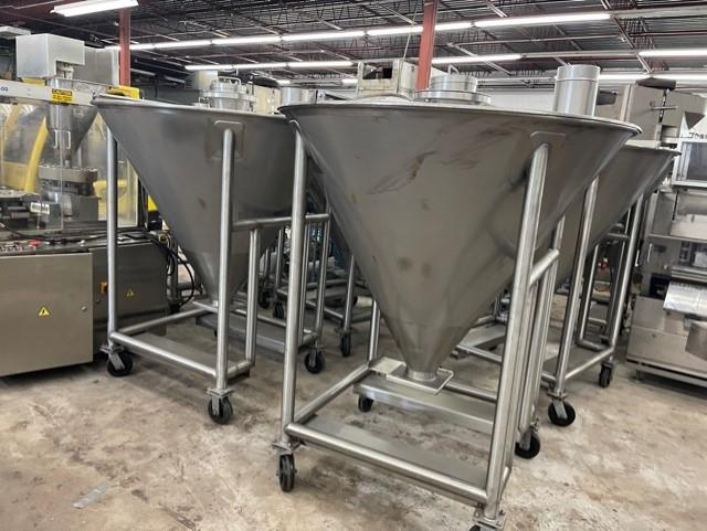 Image Stainless Steel Totes - Lot of 7 1553158