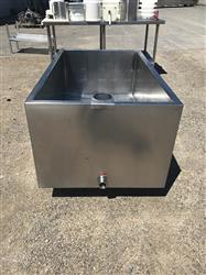 308724 - 100 Gallon Open Top Vat - Jacketed