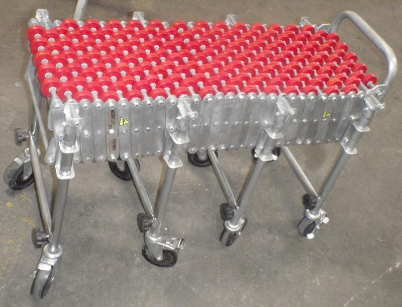 NESTAFLEX 175 Flexible Accordion Roller Conveyor