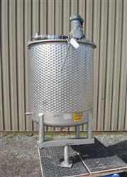 310782 - 215 Gallon Jacketed Mix Tank - Stainless Steel