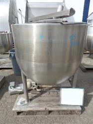 310815 - 125 Gallon JC PARDO Jacketed Mix Kettle