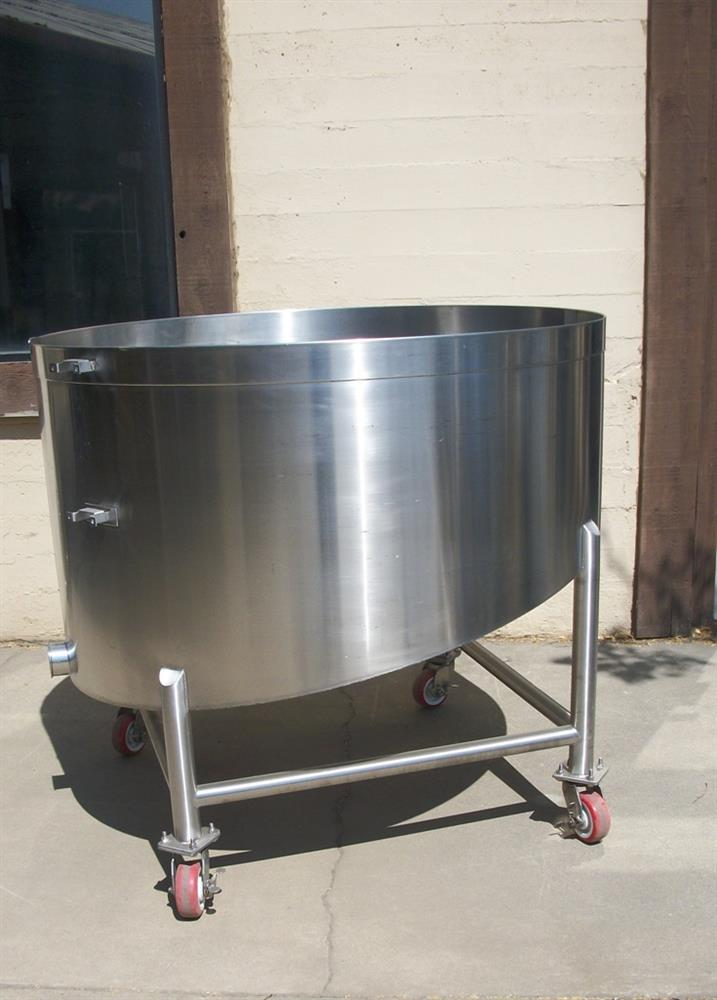 250 Gallon Open Top Tan 311402 For Sale Used N A