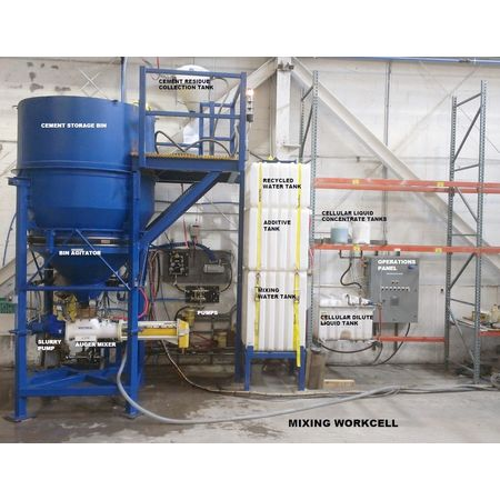 METALFAB, INC. Continuous Cement Mixing System