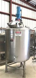 312074 - 200 Gallon LEE Reactor - Sanitary, Stainless Steel