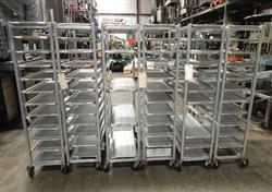 312565 - Bakery Racks and Trays - Lot of 7