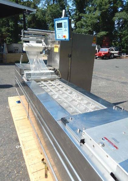 Multivac r140 rollstock thermoformer machine | steep hill.