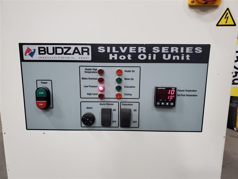 Image BUDZAR IND. 1SSOT Silver Series Hot Oil Unit - 12kW 1455303