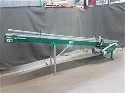 313307 - RAPISTAN Decline Belt Conveyor - 12in W X 135in L