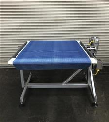 313550 - Feed-Pack Off Conveyor Table - 40in X 50in Long, Stainless Steel