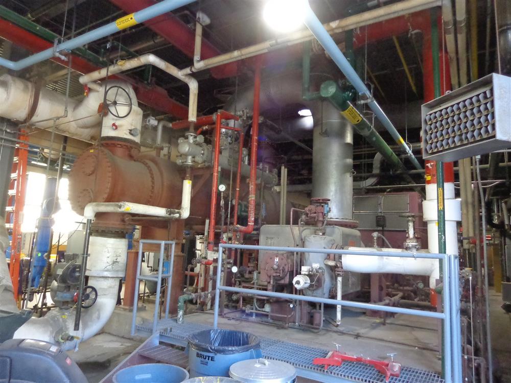 2500 Kw Dresser Rand Steam Turbine Generator Set