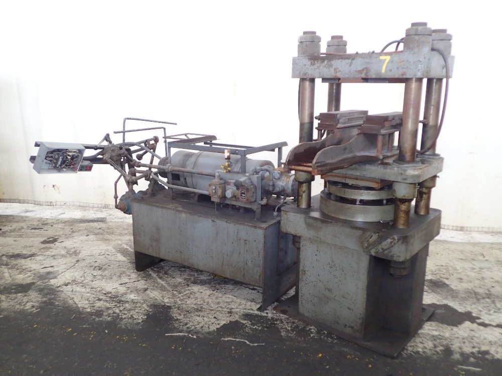 4 Post Hydraulic Press - 314014 For Sale Used N/A