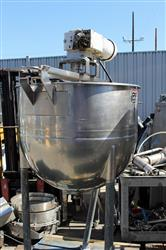 314940 - 100 Gallon LEE Jacketed Kettle with Sweep Agitation - Stainless Steel