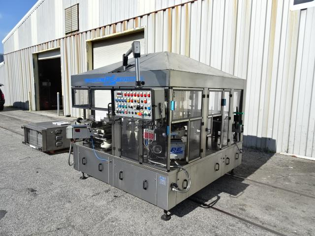 Image P.E. LABELLERS Futura S Cut and Stack Hot Melt Labeler 1007142