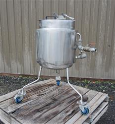 316082 - 13 Gallon Jacketed Tank