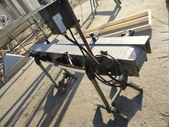 Image 6in W X 6ft L Chainbelt Conveyor 1009497