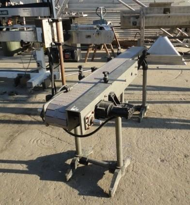 Image 6in W X 6ft L Chainbelt Conveyor 1009499