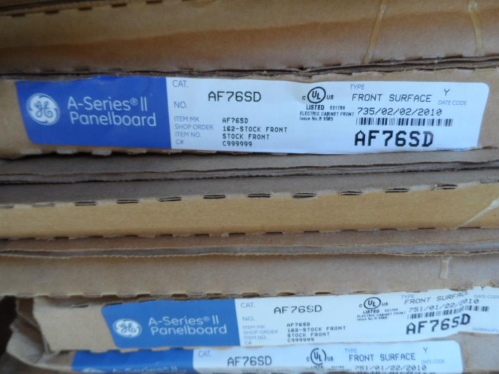 GE Panel Board - 400 Amp, 2 - 316130 For Sale Used