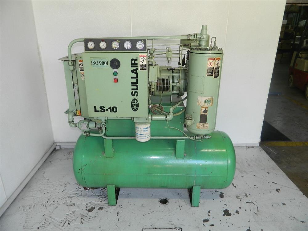 25 hp sullair rotary screw 316851 for sale used rh bid on equipment com
