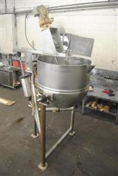 316877 - 125 Gallon LEE 125-CHD7 Tilting Cooking and Mixing Kettle - Stainless Steel