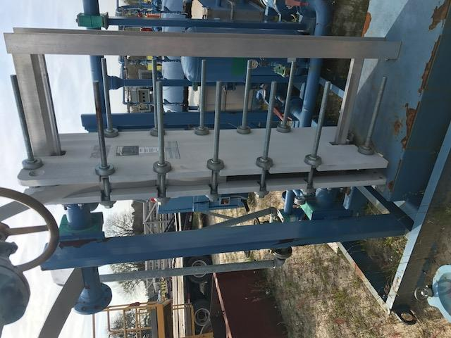 Xylem Heat Exchanger Plate 317324 For Sale Used