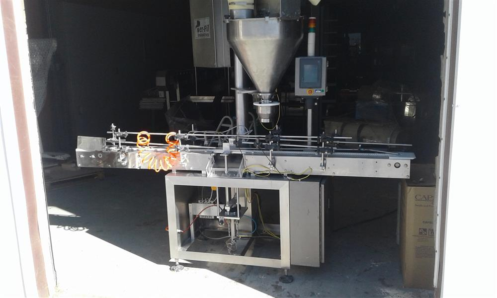 PERFIL PF-23 Powder Filler and Conveyor