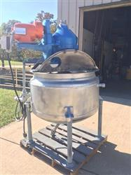 318363 - 100 Gallon Double Mixing Jacketed Kettle
