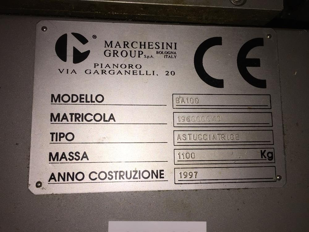 Image MARCHESINI Horizontal Cartoner - Model BA100 1021999