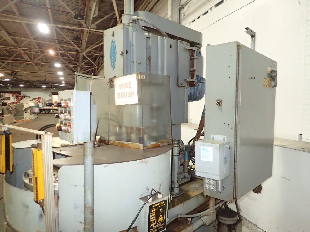 Wire Brush Machine For Sale | Kaufman Wire Brush Fini 320894 For Sale Used N A