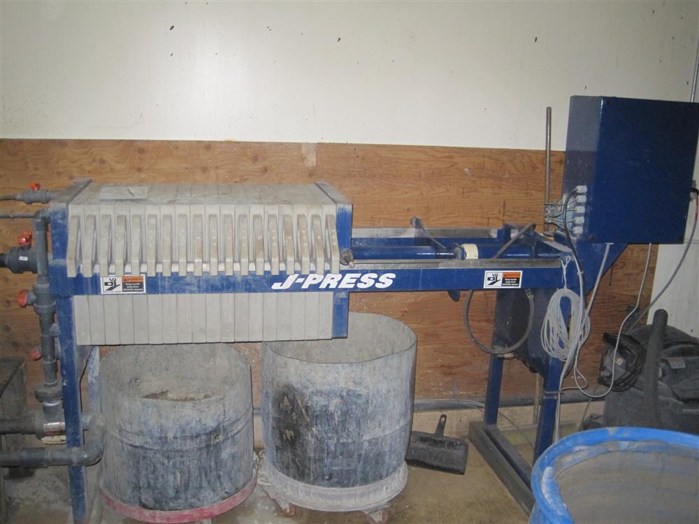 US FILTER  470G25-17/25-2/3MYLW J-Press De-Watering Equipment