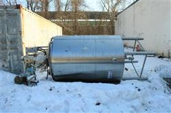 322428 - 800 Gallon DCI Jacketed Mixing Tank - Stainless Steel