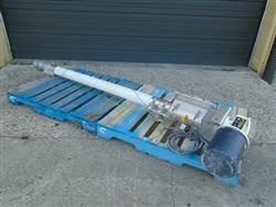 322525 - FLEXICON Screw Conveyor - 4in Dia. X 72in L, Stainless Steel