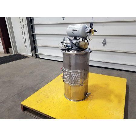 Image Vacuum Hopper Loader Filter Receiver - Stainless Steel 1043376