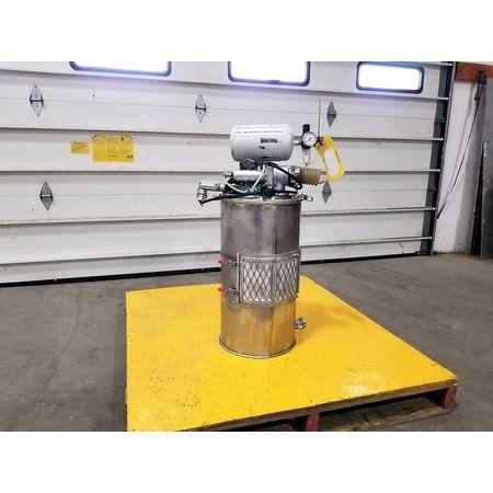 Image Vacuum Hopper Loader Filter Receiver - Stainless Steel 1043378