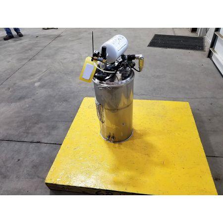Image Vacuum Hopper Loader Filter Receiver - Stainless Steel 1043380
